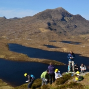 Supporting Scotland's Geoparks - The Scottish Geology Trust
