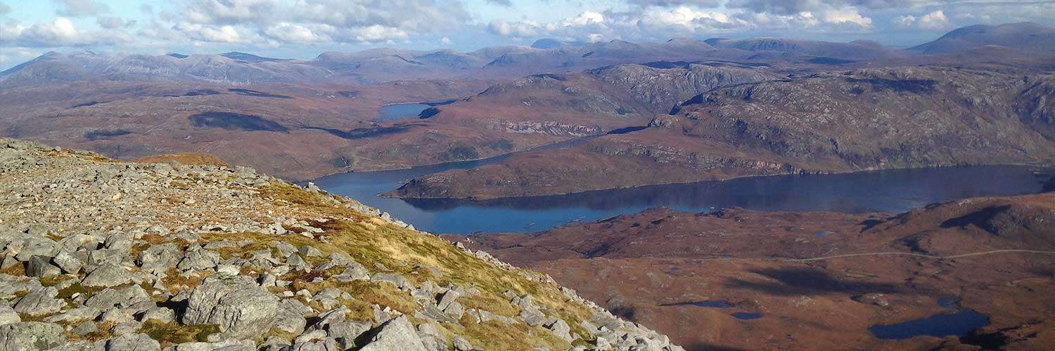 Scottish Geology Trust - Loch Glencoul, North West Highlands Geopark