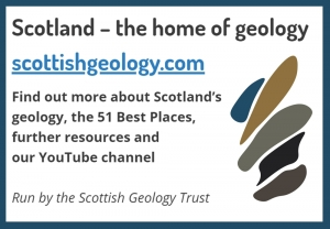 advert and link to scottishgeology.com