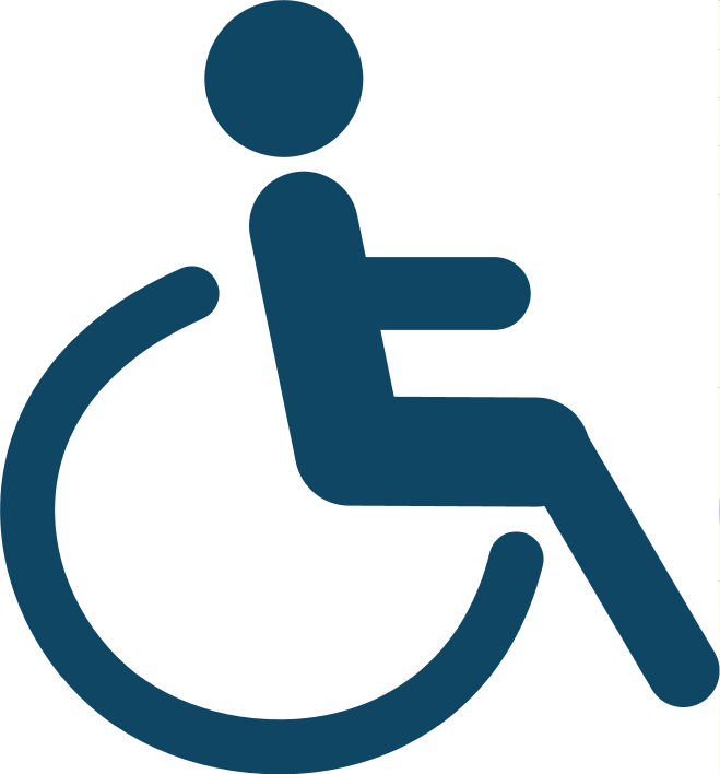 Accessible for wheelchair users